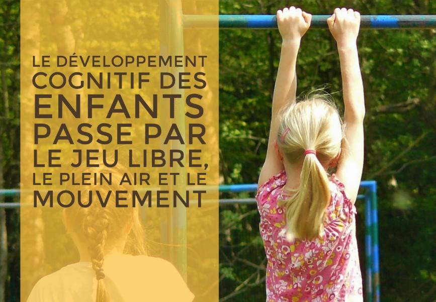 développement cognitif enfants