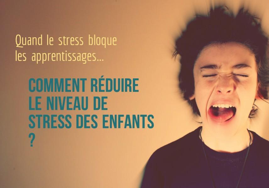 stress bloque les apprentissages