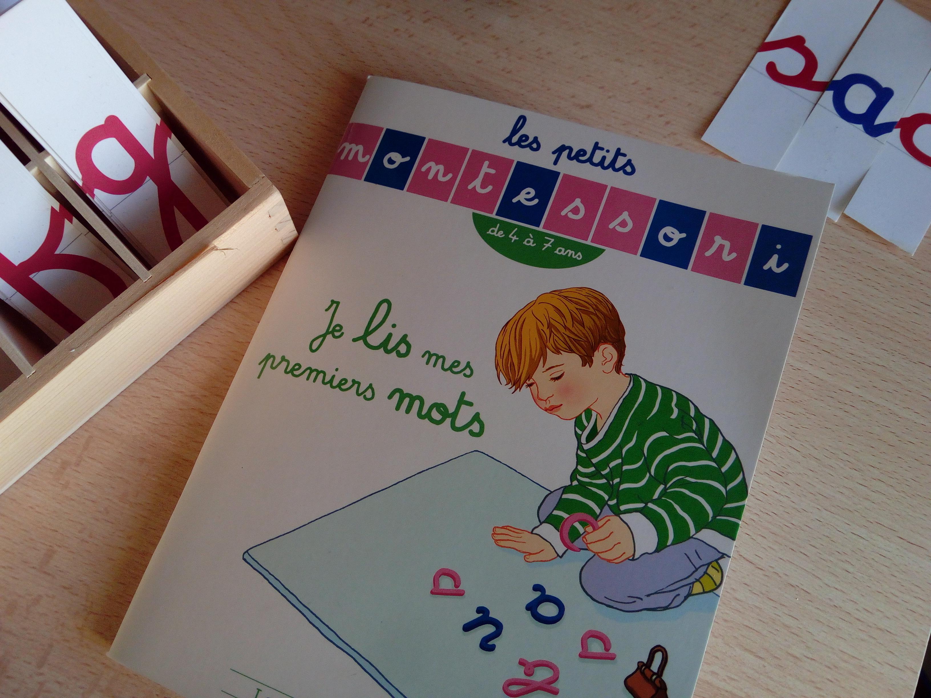 les petits cahiers montessori je lis mes premiers mots
