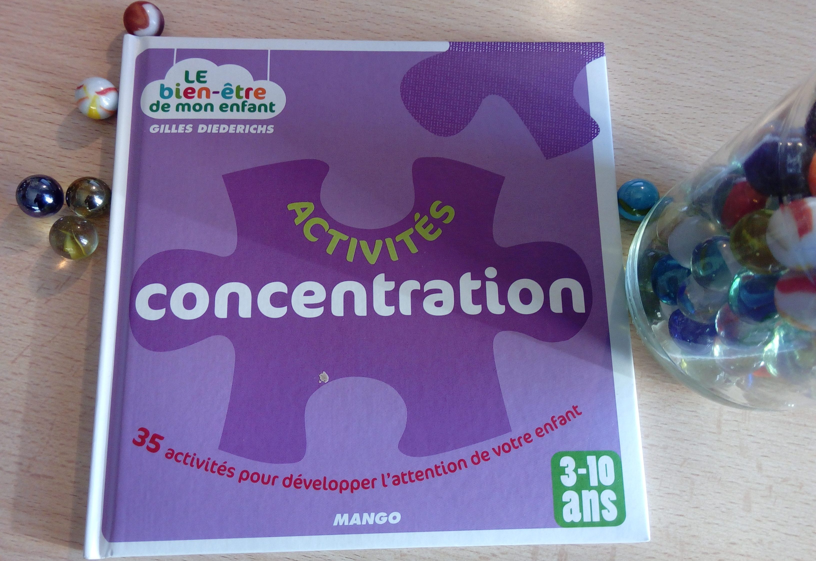 livre concentration enfants