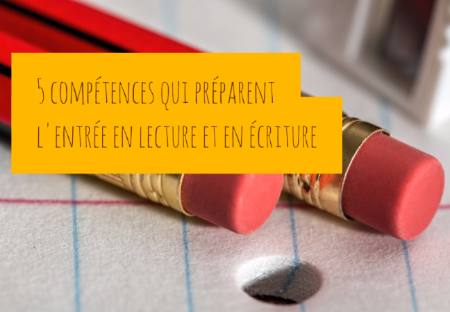5 comp tences qui pr parent l 39 entr e en lecture et en criture for Ecriture en miroir psychologie