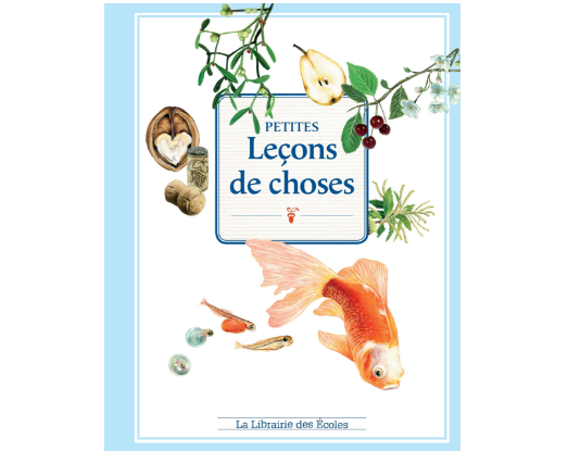 livres leçons de choses sciences enfants