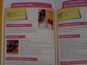 activités pédagogie montessori maternelle langage