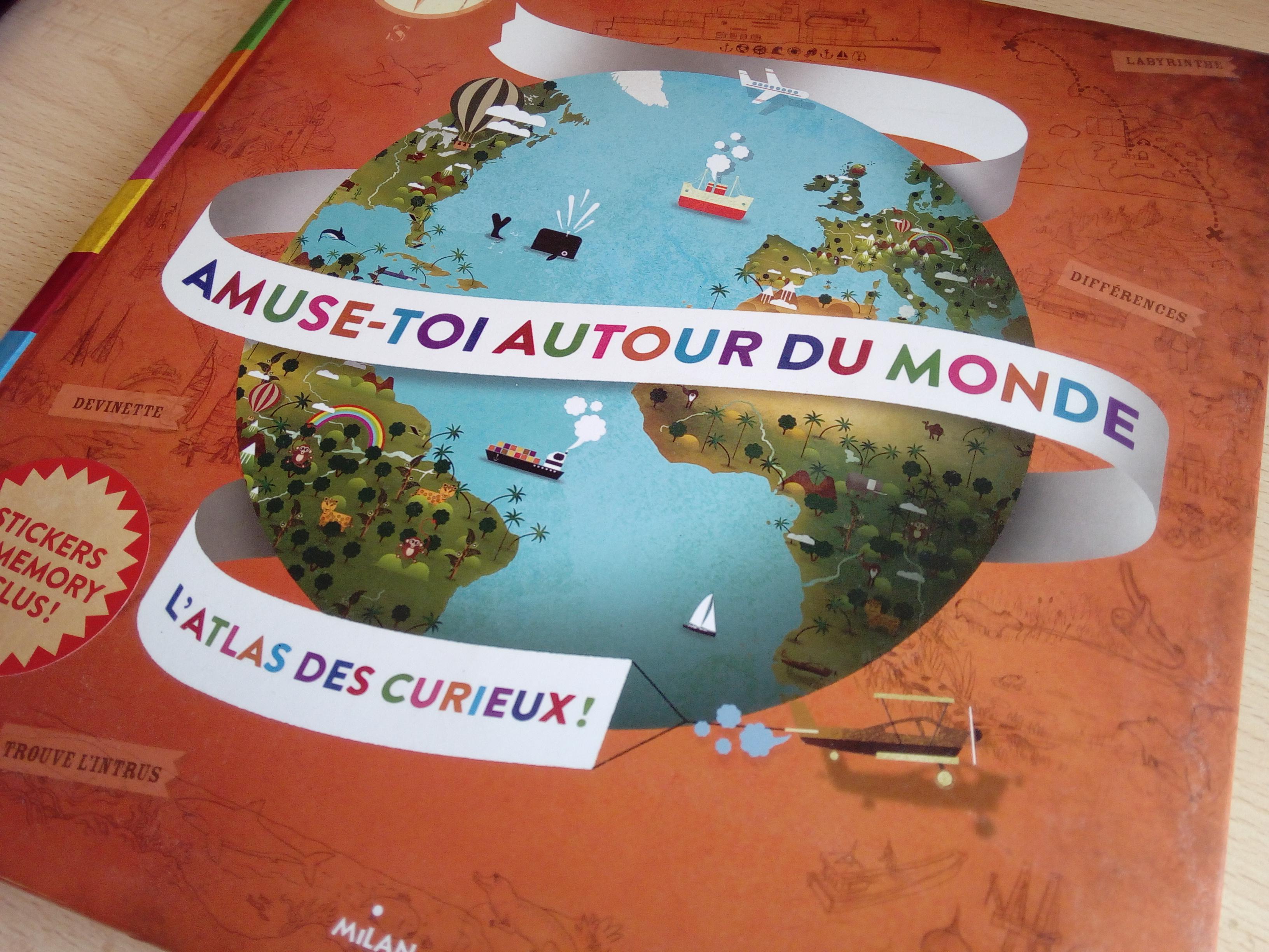 atlas geographique du monde