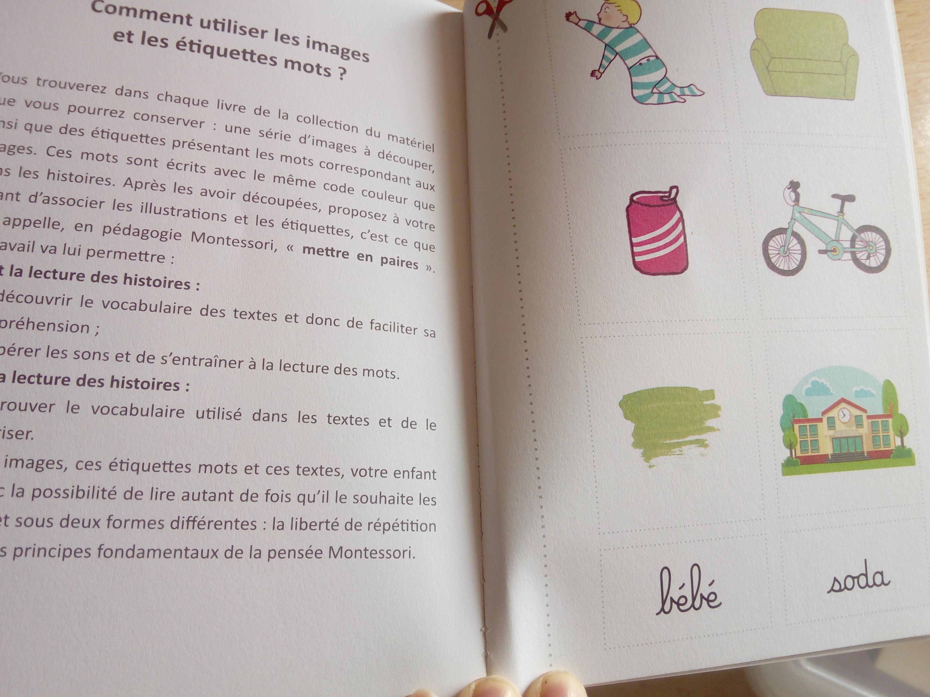 billet lecture montessori