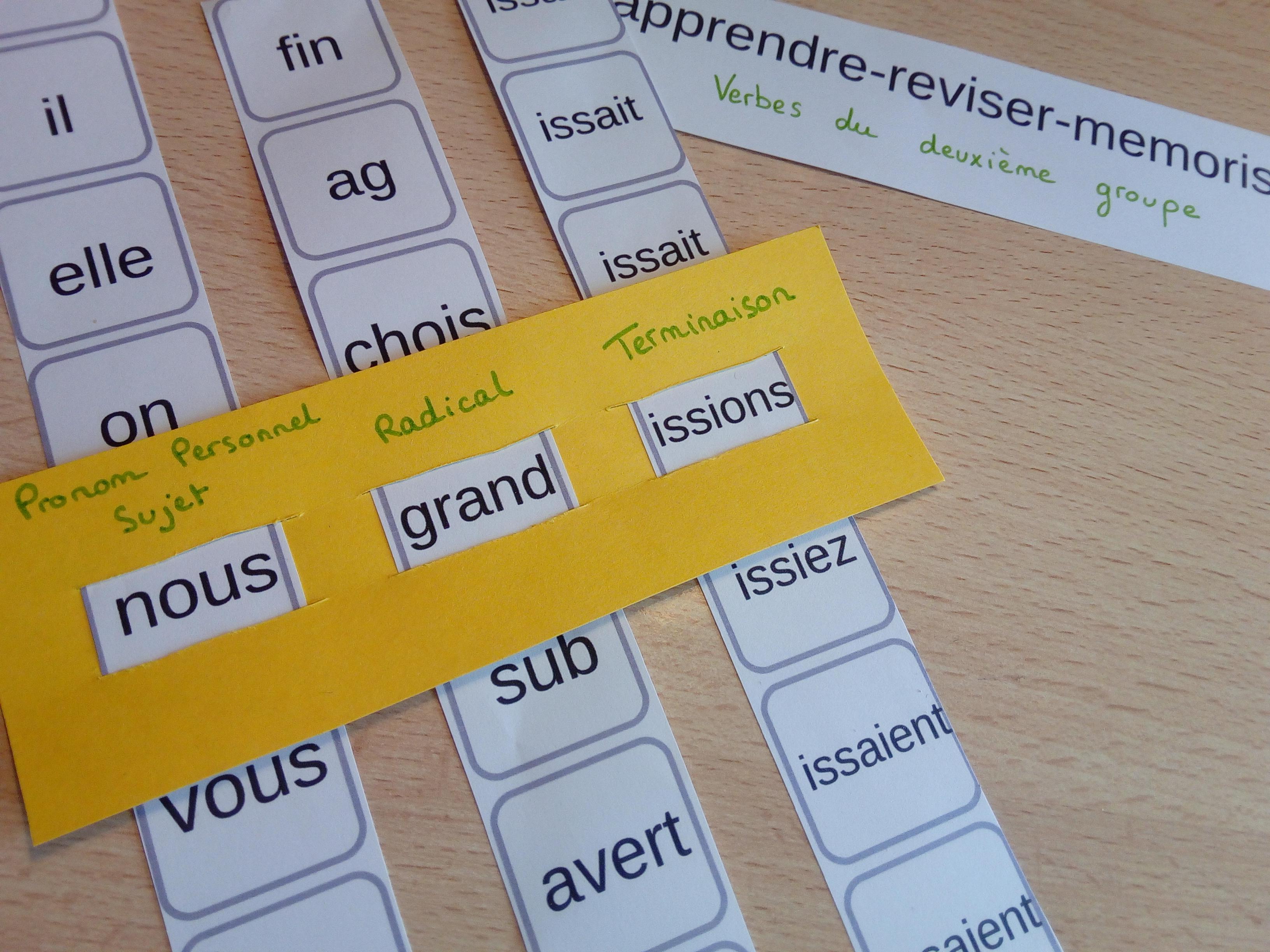 Generateur De Conjugaison Pour S Entrainer A Conjuguer Verbes Du Deuxieme Groupe Temps De L Indicatif