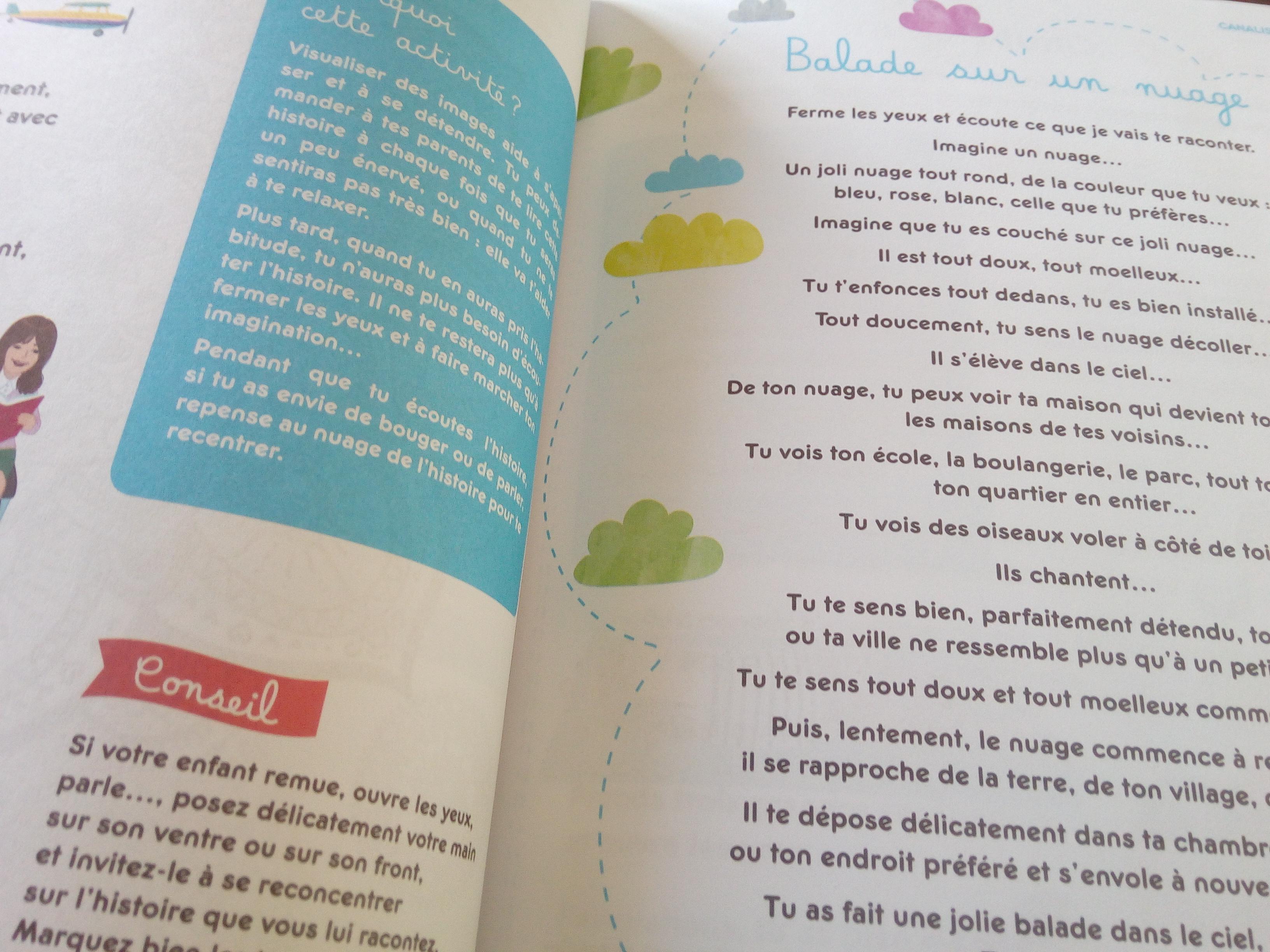 livre activités bienveillantes concentration