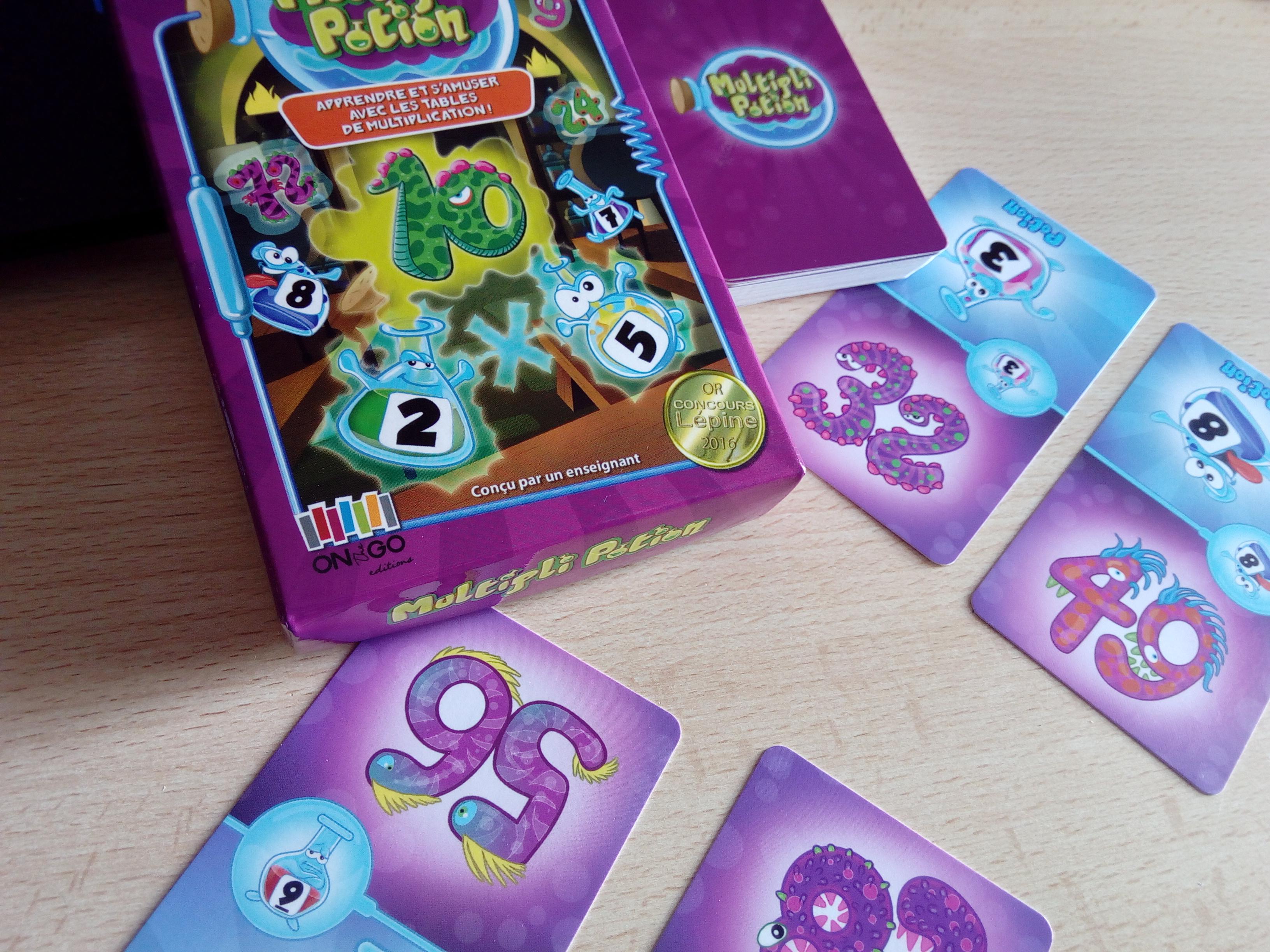 Multipli potion un jeu con u par un enseignant pour - Reviser les tables de multiplications ...