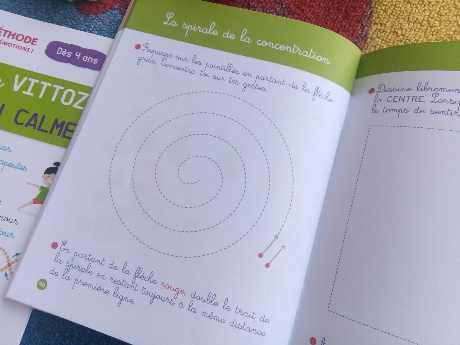 cahier exercices vittoz enfants