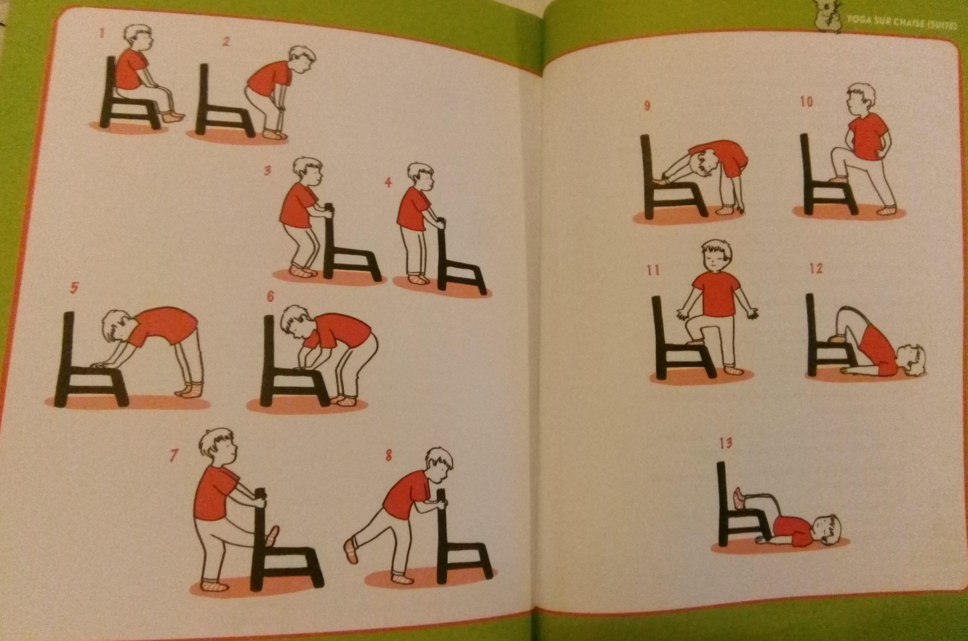 Yoga sur chaise pour les enfants : des mouvements simples pour se recentrer
