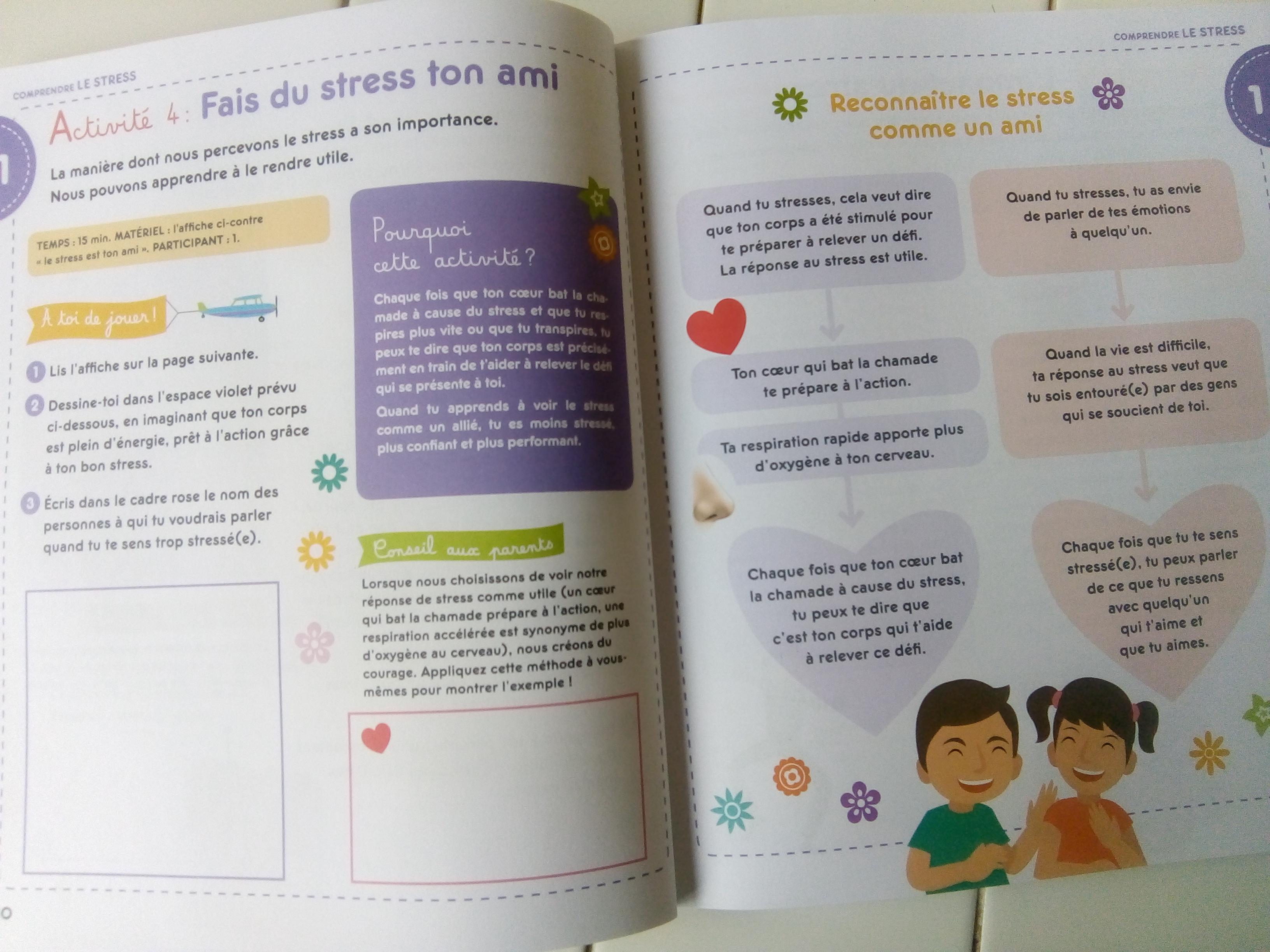 50 activités bienveillantes anti stress pour les enfants caroline jambon