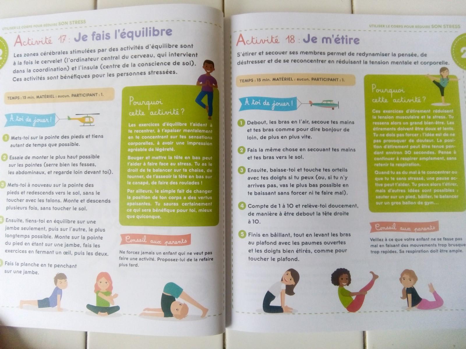50 activités bienveillantes enfants anti stress