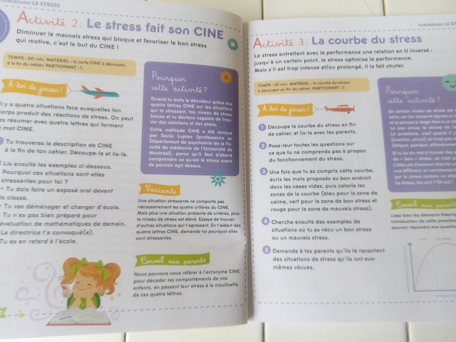 livre activités bienveillantes enfants anti stress