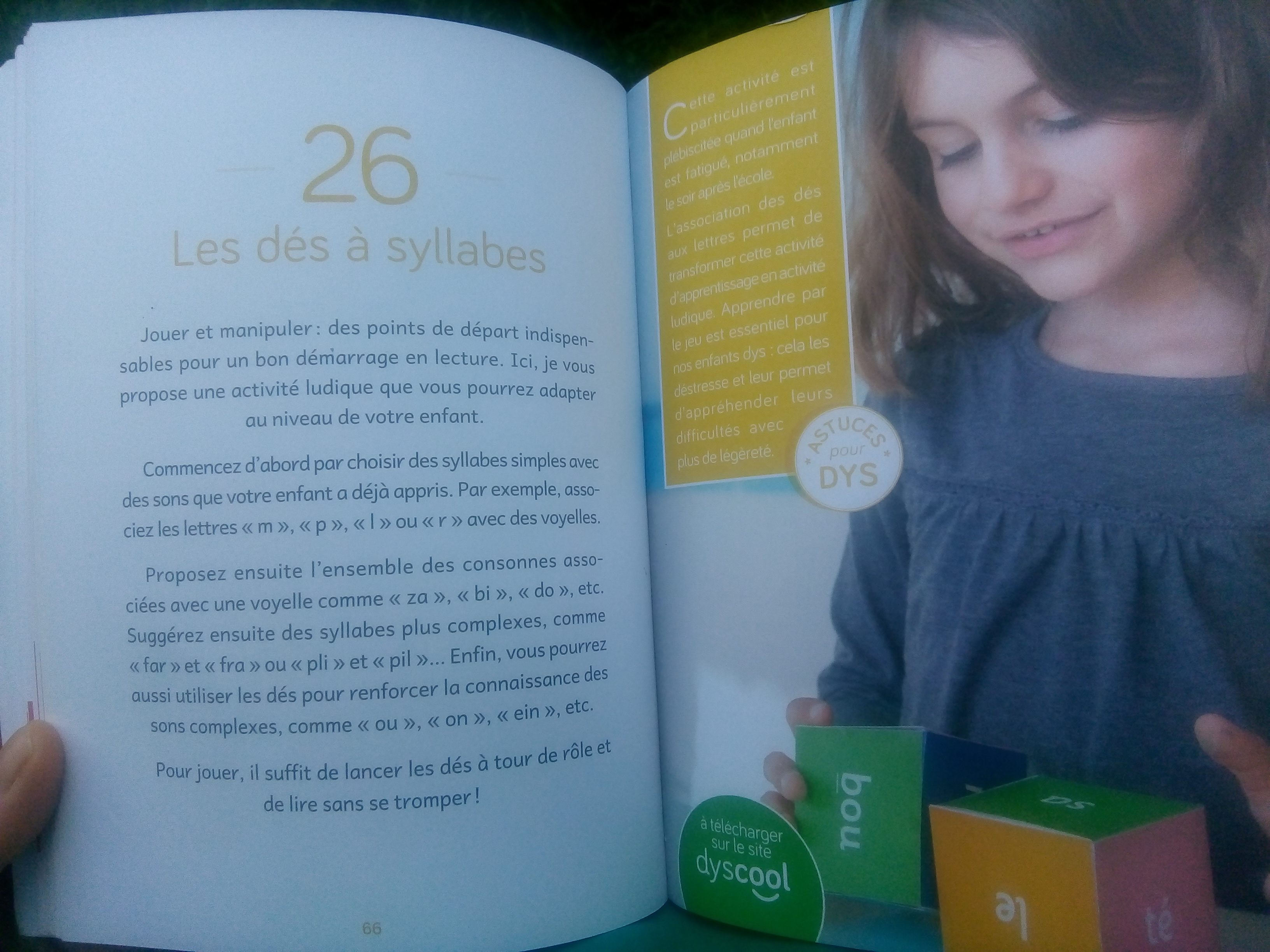 livre 100 activités enfants dys