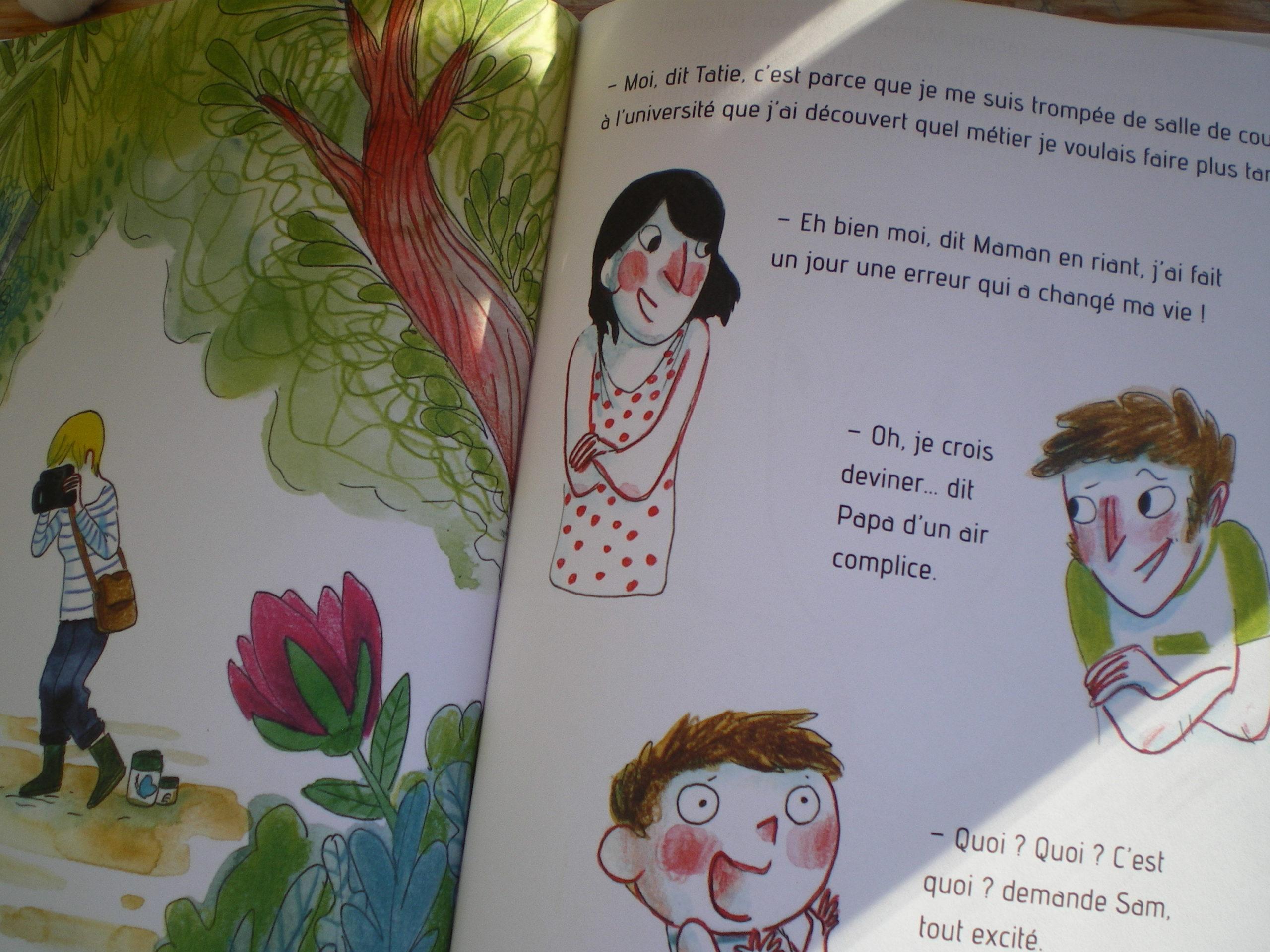 livre enfants droit de se tromper