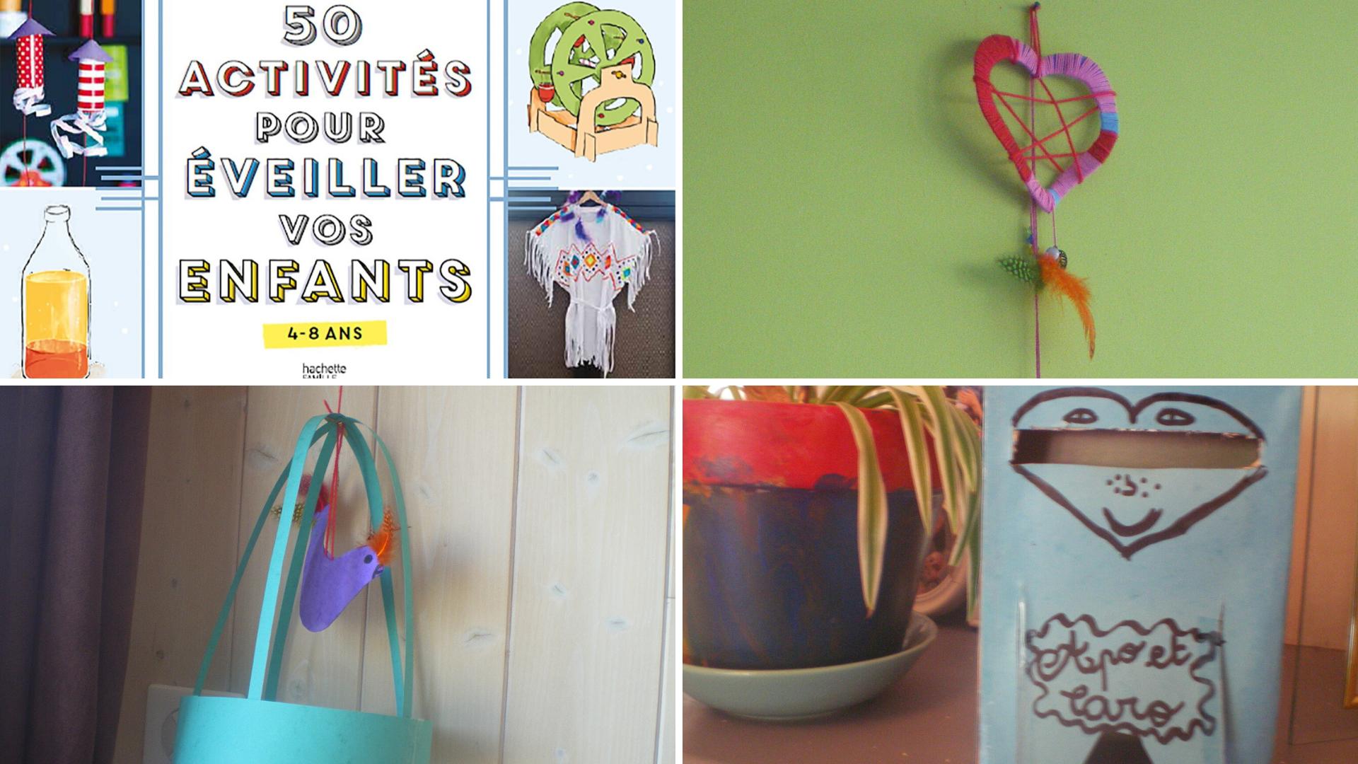 livre activités créatives enfants vacances